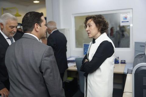 Rafael Climent visita las instalaciones de grupo Itevebasa
